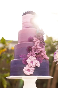purple ombre wedding cake__stephanie_yonce_photography_indianapolis wedding planner